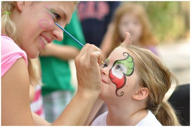 party face painting