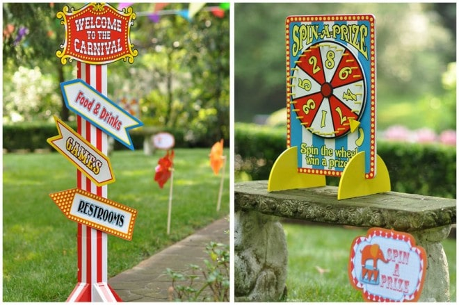 circus carnival party games