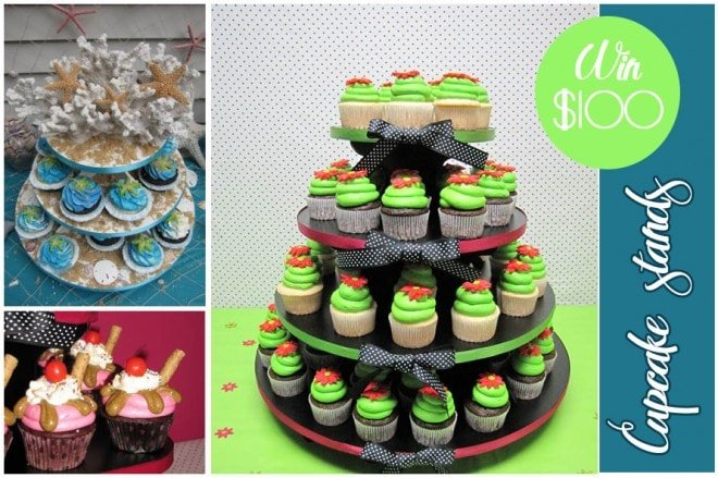 cupcake stand giveaway