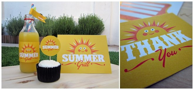Free Exclusive Summer Grill Party Printables!