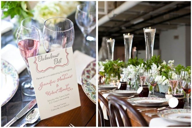 french wedding tablescape