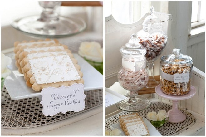 french sweet dessert table
