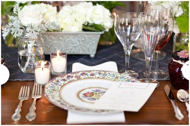 table setting french
