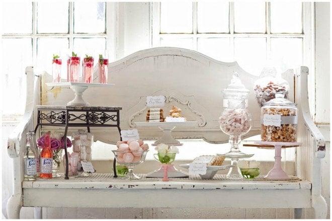 french wedding dessert table