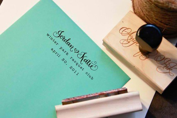 calligraphy stamp