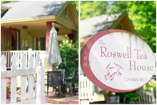 roswell tea house baby shower
