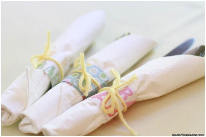 baby shower napkins