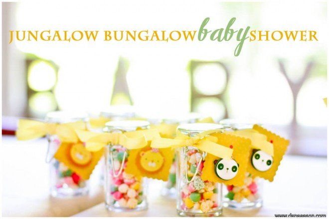 jungalow bungalow baby shower