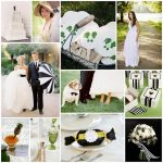 My Wedding Inspiration Board {Black, White + Kelly Green}