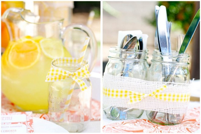 lemon ladies luncheon party picture 1