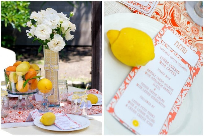 lemon ladies luncheon party picture 4
