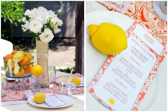 lemon ladies luncheon party picture 4