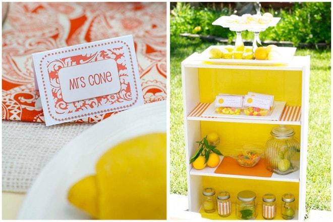 lemon ladies luncheon party picture 5
