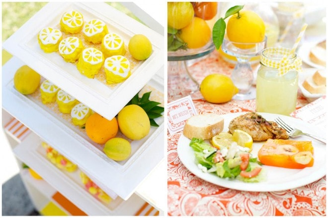 lemon ladies luncheon party picture 7