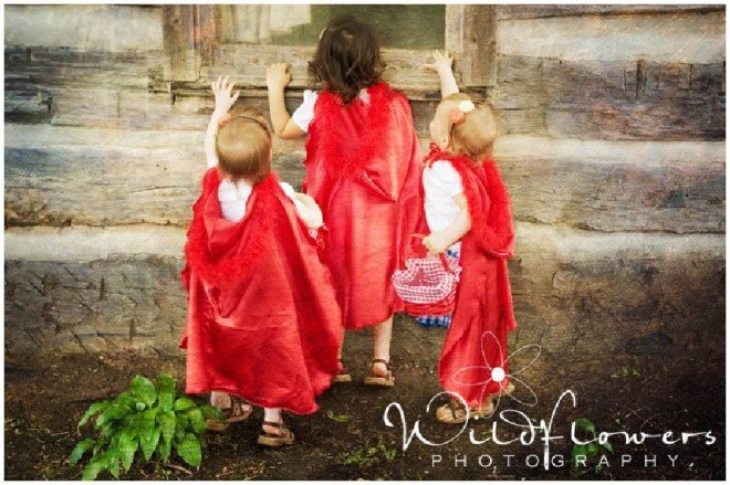 little red riding hood party 6