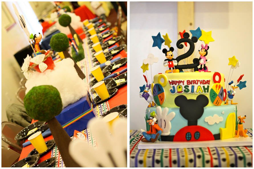 Mickey Mouse Clubhouse Birthday Party | Pizzazzerie
