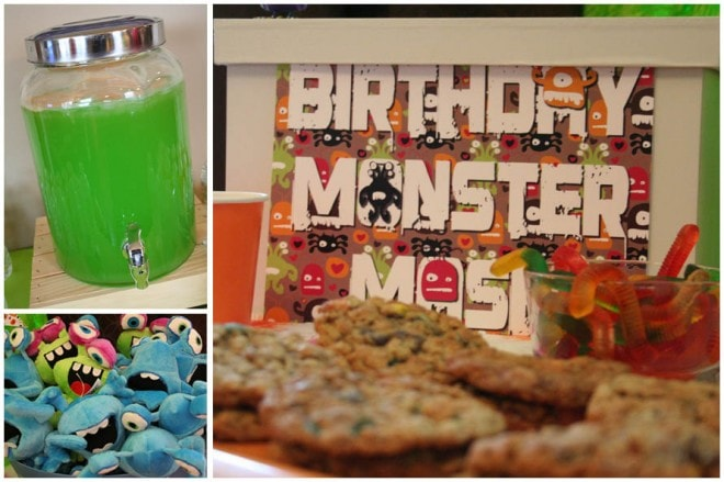 monster birthday bash party 3