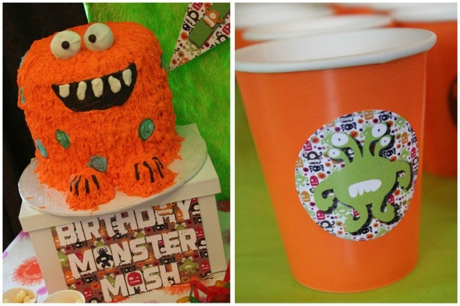 monster birthday bash party 5
