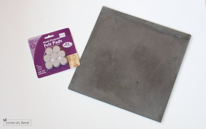 DIY Slate Cheese Serving Tray