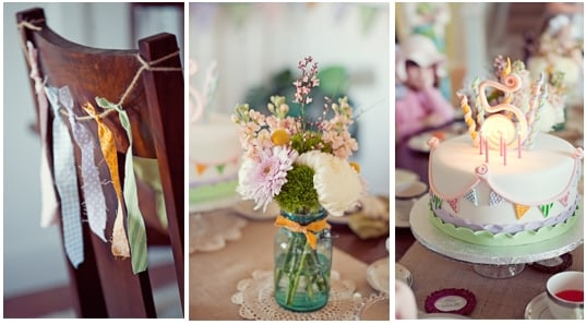 Vintage Birthday Party 6