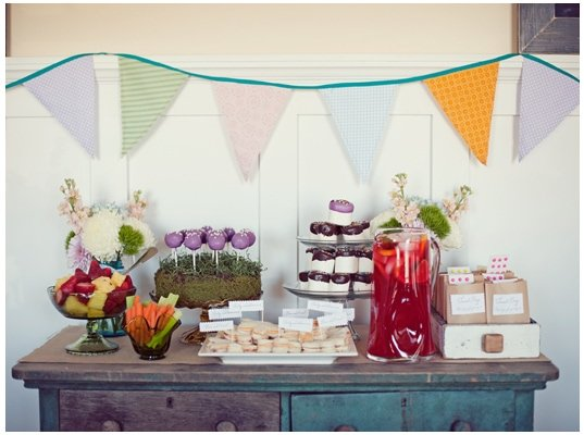 Vintage Birthday Party 2