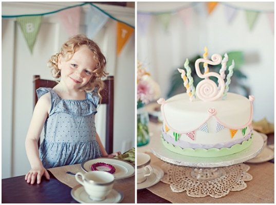 {Real Party} Vintage 5th Birthday Party