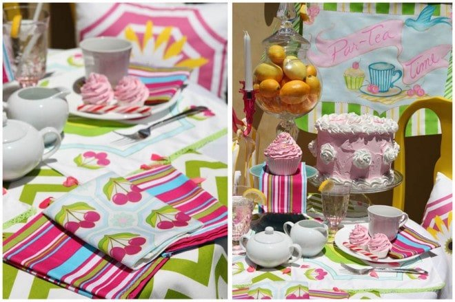 summer tea party tablescape 2