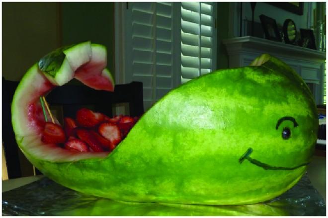 whale watermelon fruit