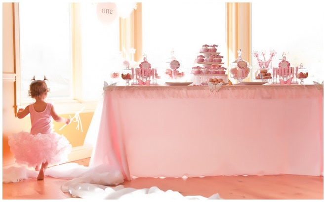Quot Tutu Cute Quot Ballerina 1st Birthday Party Pizzazzerie