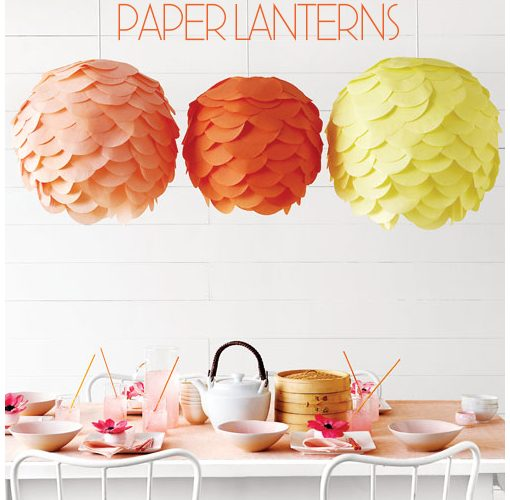 {DIY} Decorative Paper Lantern Tutorial