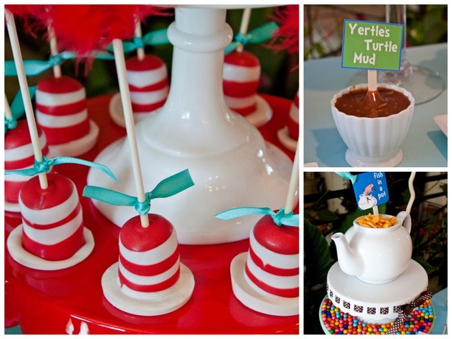 Dr Seuss Baby Shower Cake Decorations  from pizzazzerie.com