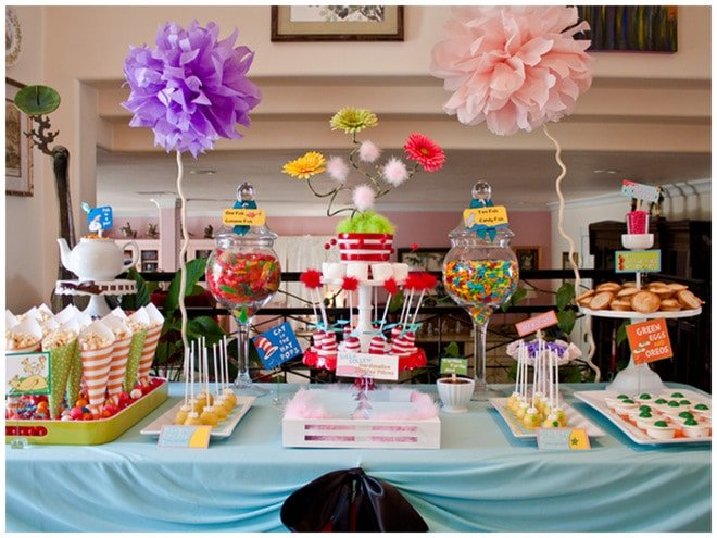 Dr Seuss Baby Shower Ideas Party Food Decorations And More