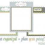 FREE PRINTABLE PARTY TO DO LISTS