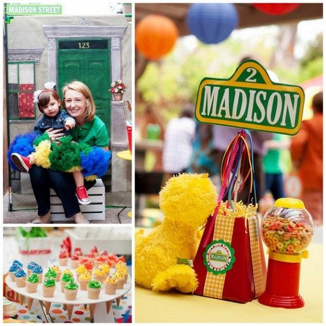 Sesame Street Chic: 2nd Birthday Party