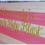 Preppy Beach Baby Shower