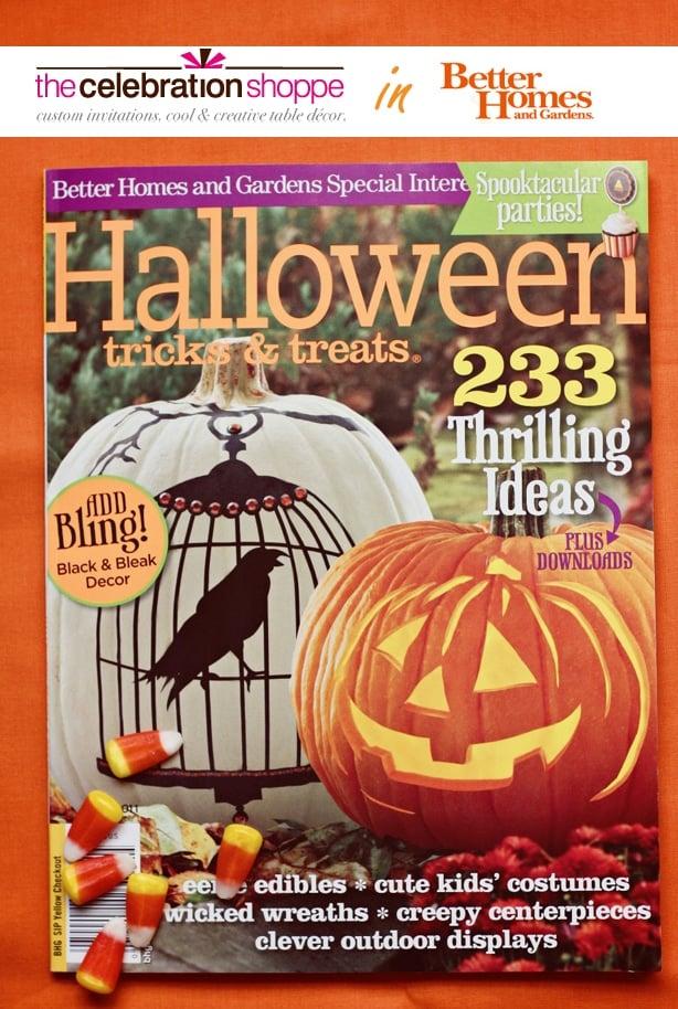 better homes gardens halloween special edition magazine