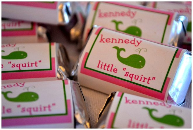 candy bar wrappers baby shower picture
