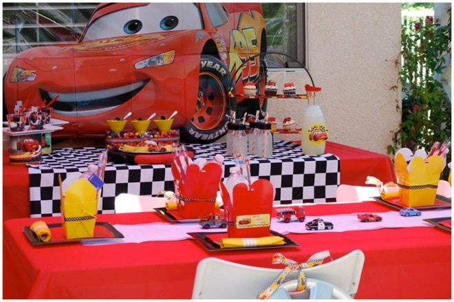 disney cars 2 birthday party 2