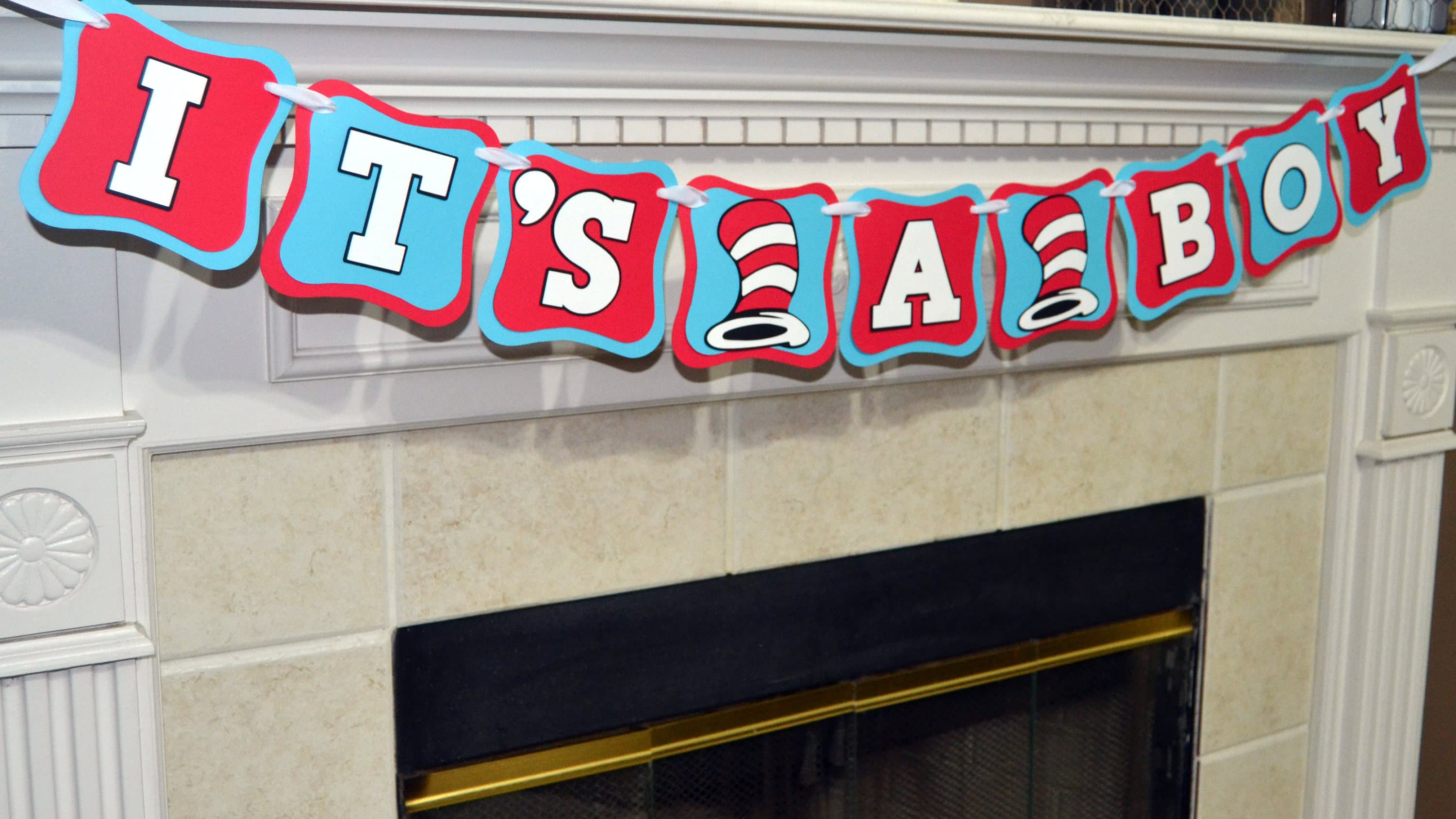 Dr. Seuss Baby Shower Decorations