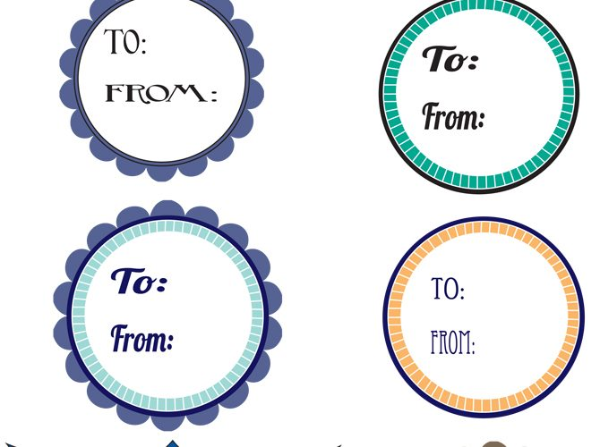 Free Printable Birthday Gift Tags