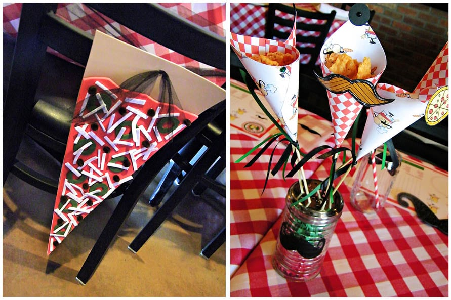 kids party pizza