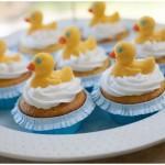 rubber ducky birthday cupcakes