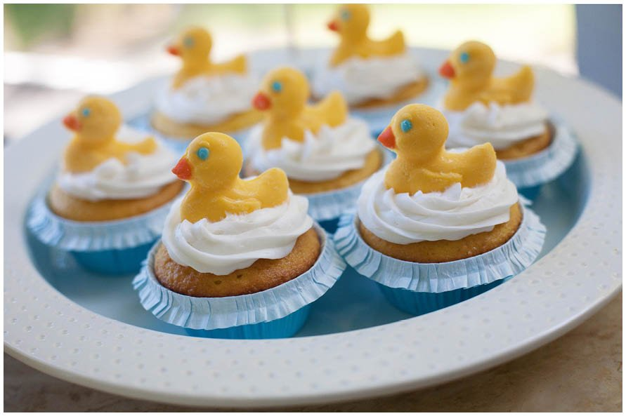 Pleasant Rubber Ducky 1St Birthday Party Pizzazzerie Funny Birthday Cards Online Inifofree Goldxyz