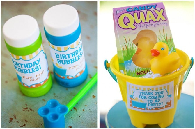 rubber ducky birthday decorations3