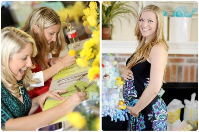 rustic gardening themed baby shower 4