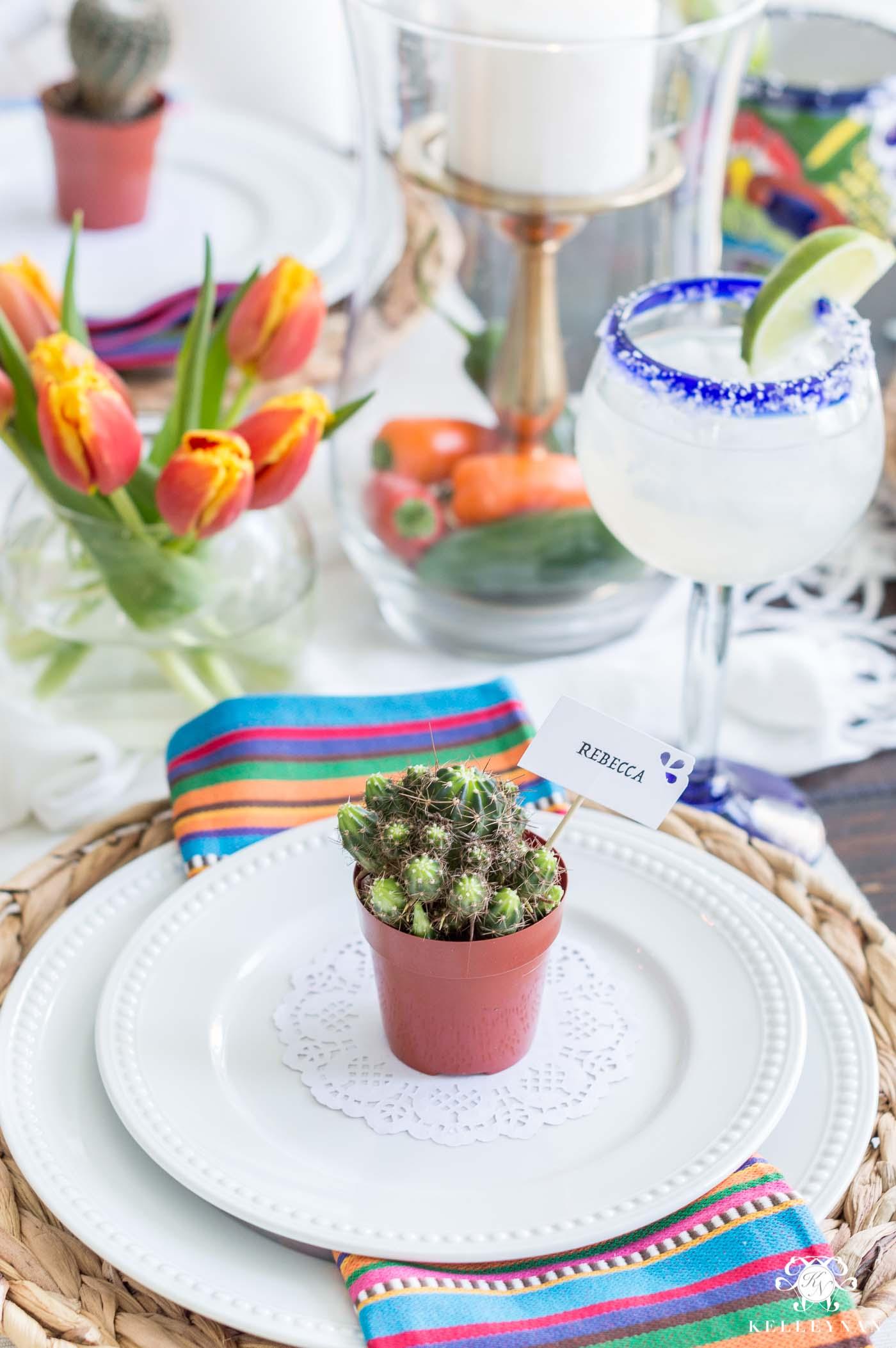 Cinco de Mayo Themed Party Table