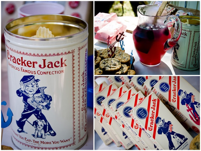 Cracker Jack Themed Birthday Party!