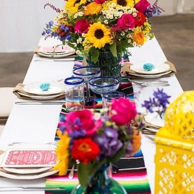 Style a Mexican Themed Party Table