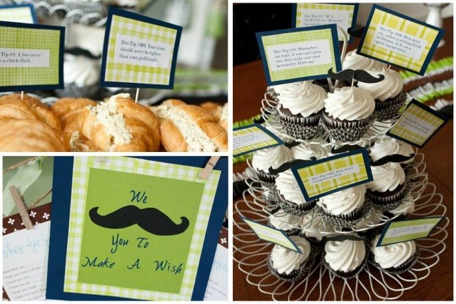 Little Man Baby Shower Picture 7