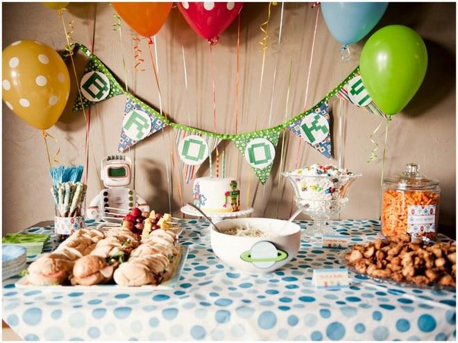 ROBOT Birthday Party!